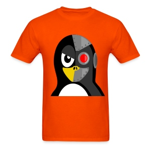 Cyborg Penguin - Men's T-Shirt