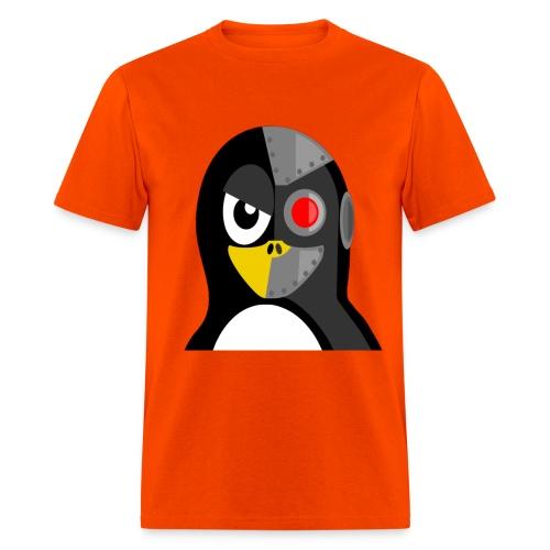 Cyborg Penguin - Men's T-Shirt