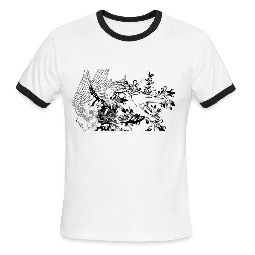 LVFY Ringer T-Shirt - Mens - Men's Ringer T-Shirt