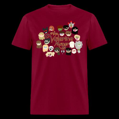 The Valerine Characters - Men's T-Shirt