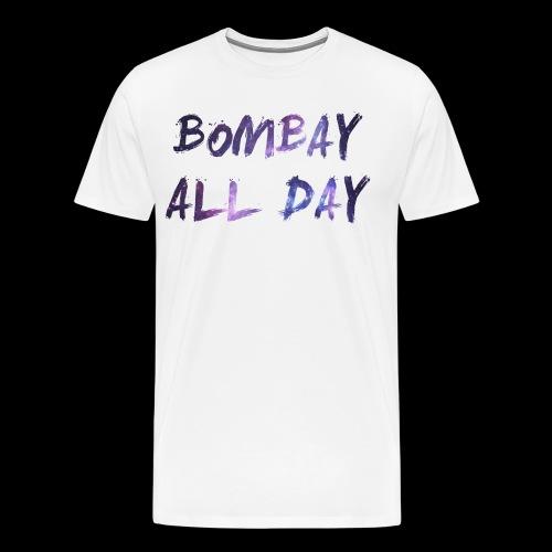 Bombay All Day Mens Tee - Space [White] - Men's Premium T-Shirt