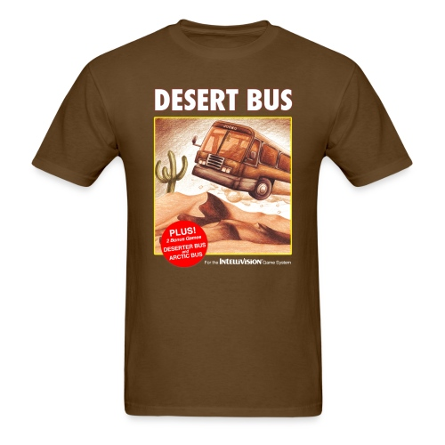 Desert Bus shirt - Men's T-Shirt