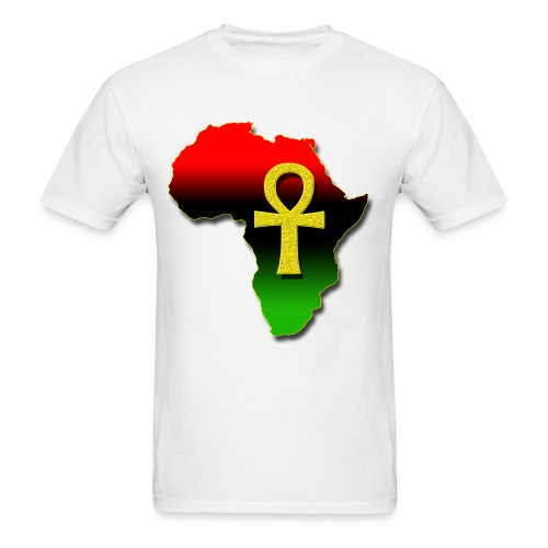 African and Ankh Tee - Men's T-Shirt