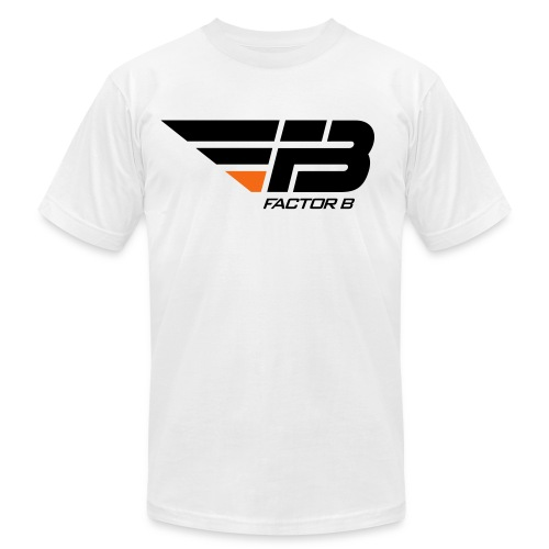 Factor B T Shirt - Colour Logo - Men's Fine Jersey T-Shirt