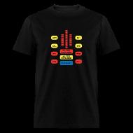 T-Shirts ~ Men's T-Shirt ~ SKYF-01-033 KITT_Dasboard