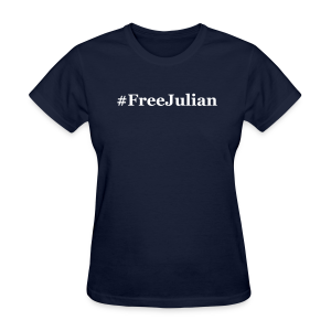 #FreeJulian - Women's T-Shirt