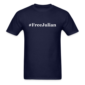 #FreeJulian - Men's T-Shirt
