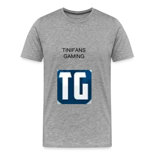 TiniFans Gaming Official Men's T-shirt - Men's Premium T-Shirt