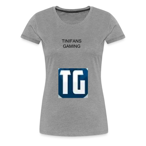 TiniFans Gaming Official Women's T-shirt - Women's Premium T-Shirt