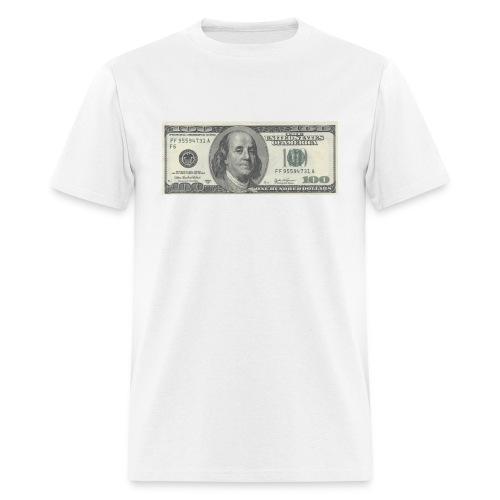 One Hundred Dollar Bill ($100) - Men's T-Shirt