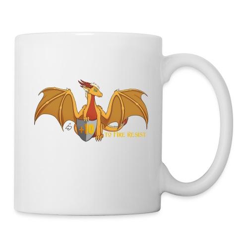 +10 to Fire Resist | White Mug - Coffee/Tea Mug
