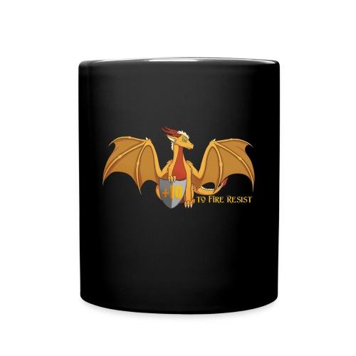 +10 to Fire Resist | Black Mug - Full Color Mug