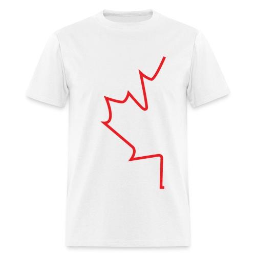 Half Maple Leaf - Men's T-Shirt