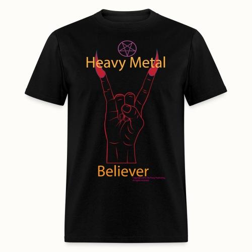 Men's Heavy Metal Believer - Men's T-Shirt