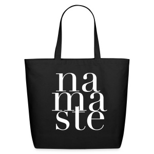 Namaste Tote Bag - Eco-Friendly Cotton Tote