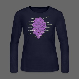Detroit Member Berries - Women's Long Sleeve Jersey T-Shirt