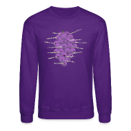 Long Sleeve Shirts ~ Crewneck Sweatshirt ~ Detroit Member Berries