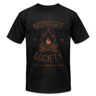 T-Shirts ~ Men's T-Shirt by American Apparel ~ The Midnight Society
