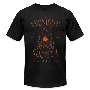The Midnight Society - Men's T-Shirt by American Apparel