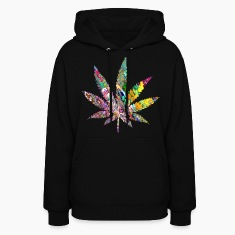 Trippy Weed Hoodies