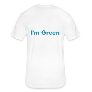 Green - Fitted Cotton/Poly T-Shirt by Next Level
