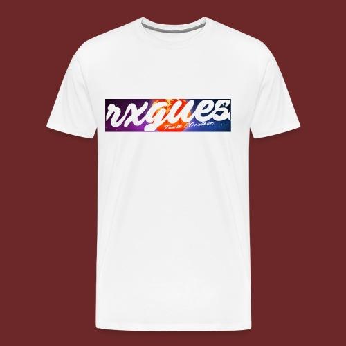 80S STYLE RETROWAVE TEE - Men's Premium T-Shirt