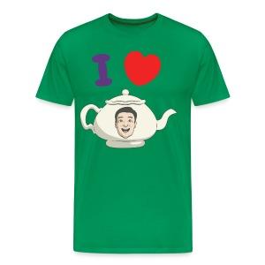 I Love Teapot - Men's Premium T-Shirt