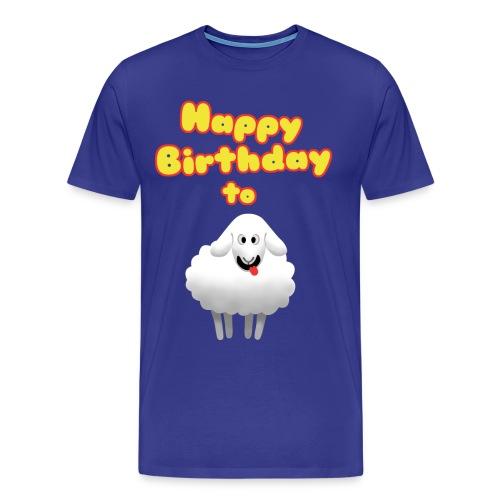 Happy Birthday to Ewe - Men's Premium T-Shirt