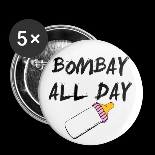 Bombay All Day - Buttons *5 Pack* - Large Buttons