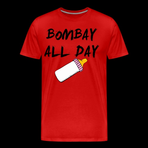 Bombay All Day Mens Tee - Baby Bottle [All Colors] - Men's Premium T-Shirt