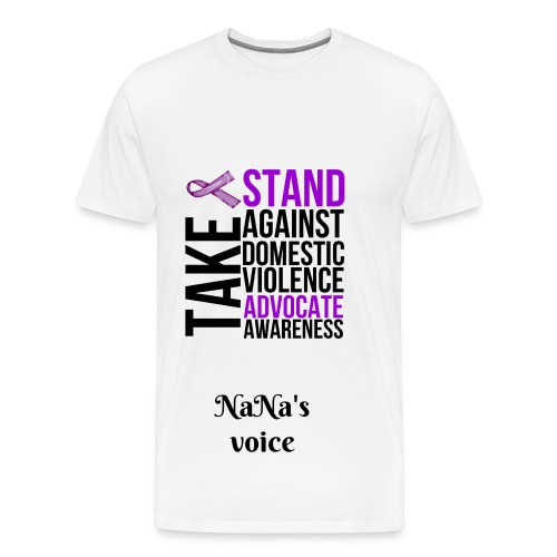 men Domestic violence tee - Men's Premium T-Shirt