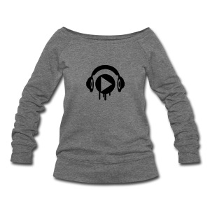 Music Play Women's Wideneck Sweatshirt  - Women's Wideneck Sweatshirt