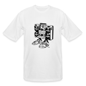 Boombox with Feet Men's Tee - Men's Tall T-Shirt