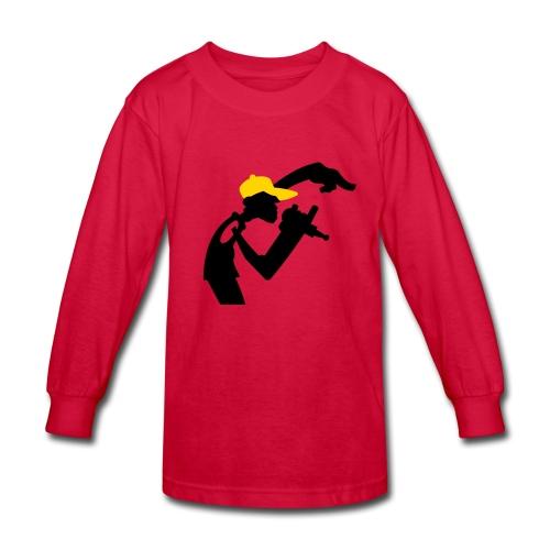 Rapper Kid's Tee - Kids' Long Sleeve T-Shirt