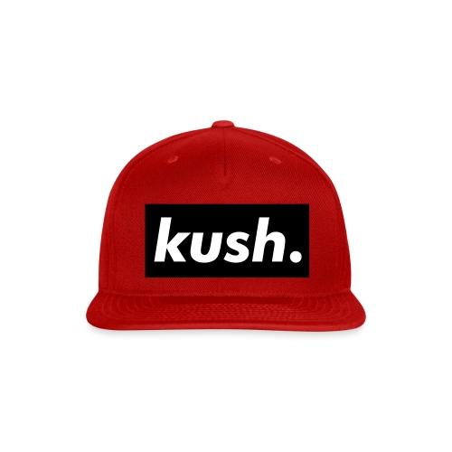 kush. - Snap-back Baseball Cap