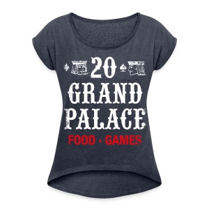 20 Grand Plalace - Women´s Rolled Sleeve Boxy T-Shirt