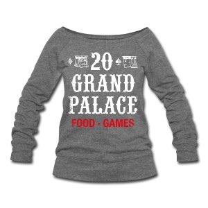 20 Grand Plalace - Women's Wideneck Sweatshirt
