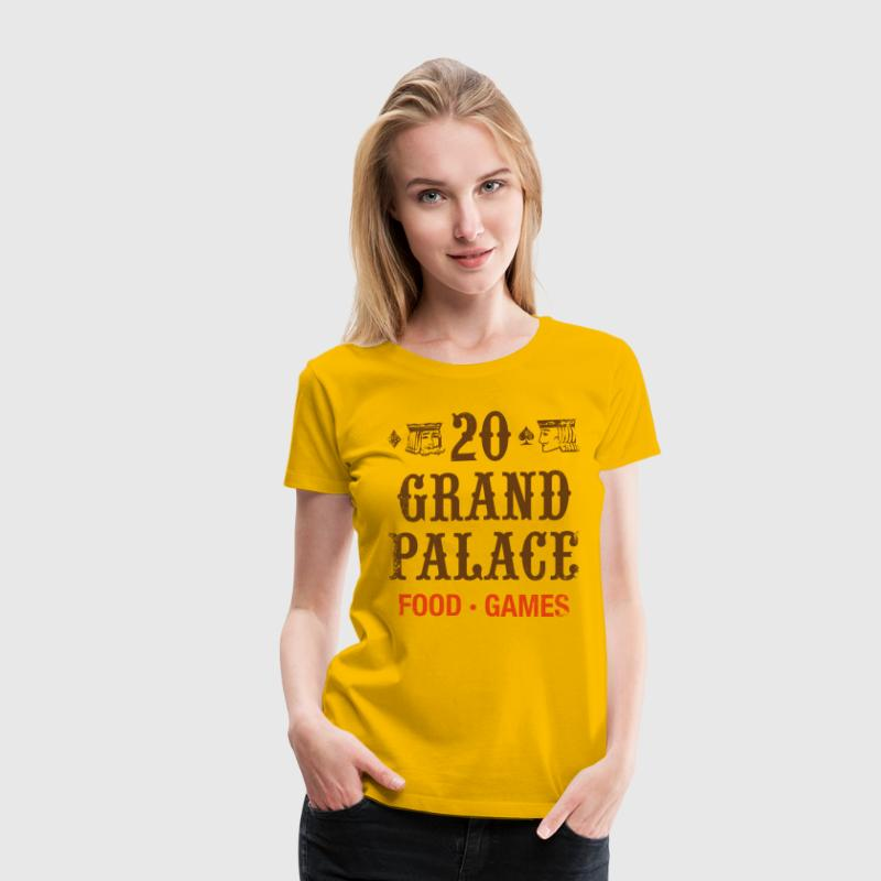 20 Grand Palace (pos.) T-Shirts - Women's Premium T-Shirt