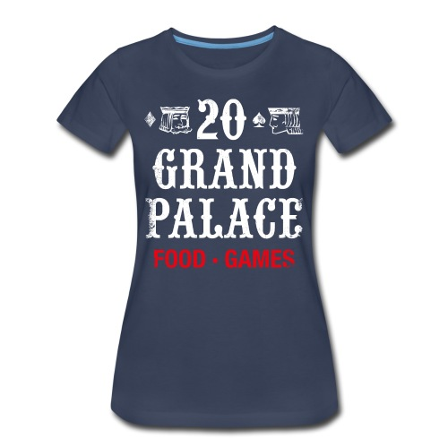 20 Grand Plalace - Women's Premium T-Shirt