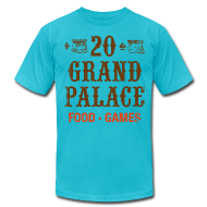 T-Shirts ~ Men's T-Shirt by American Apparel ~ 20 Grand Plalace