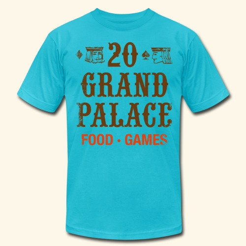 20 Grand Plalace - Men's T-Shirt by American Apparel