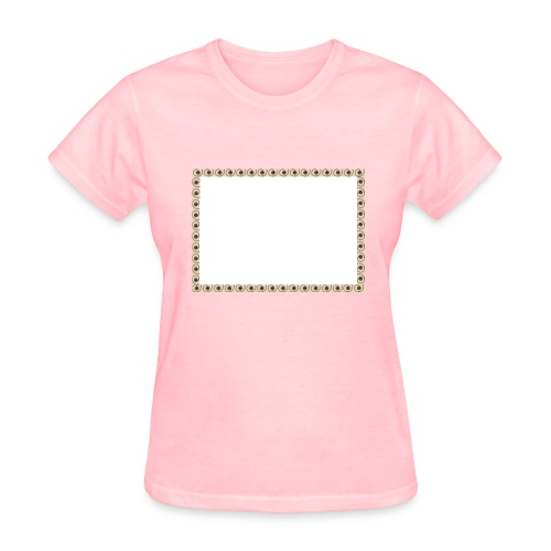 T-shirt with framework - Women's T-Shirt