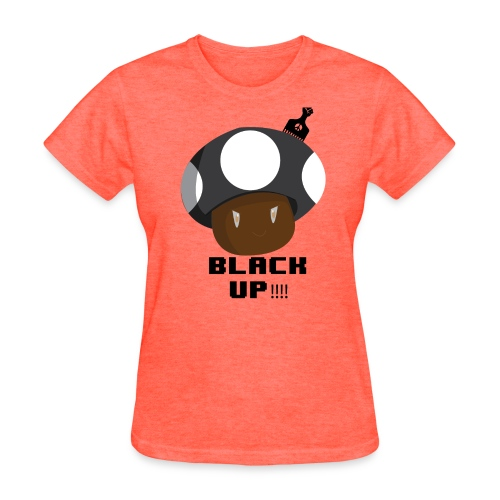 Black Up  (Women's) T Shirt - Women's T-Shirt
