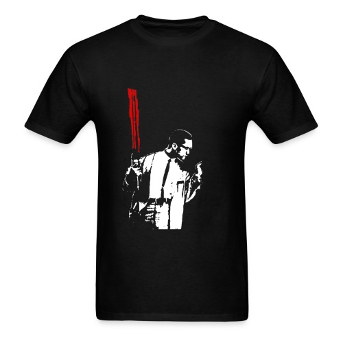 Malcolm Saber - Men's T-Shirt