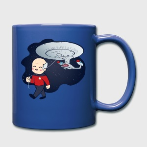 Picard Trek Enterprise - Full Color Mug