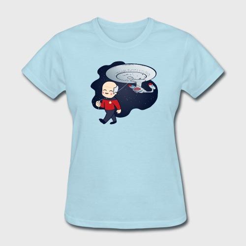 Picard Trek Enterprise - Women's T-Shirt