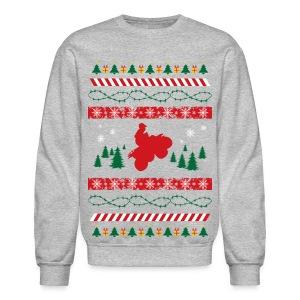 ATV Christmas Crewneck Shirt - Crewneck Sweatshirt