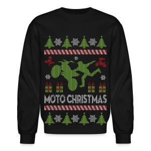 Motocross Christmas Crewneck Shirt - Crewneck Sweatshirt