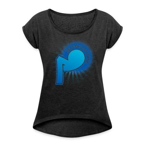 789 - Women's Roll Cuff T-Shirt