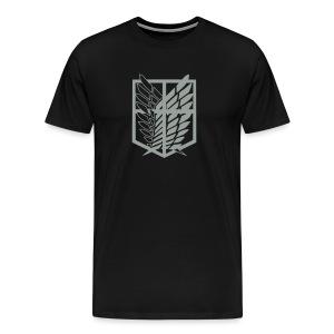 شعار فرقة الاستطلاع - Men's Premium T-Shirt